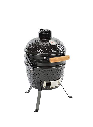 Landmann 11820 - Mini Parrilla para Chimenea (32 x 57 cm), Color Negro
