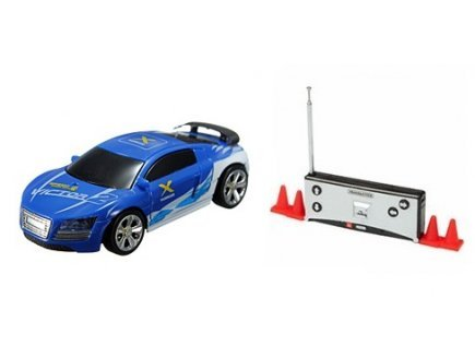 Gen 13 Mini Voiture Bleue vanward radiocommandee 7 cm - Drift tin Cars