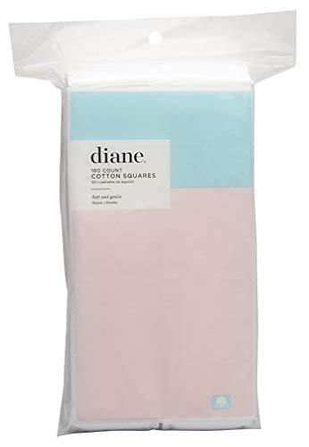 Diane Cotton Squares 160Count Packaging may vary