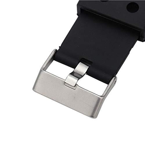 Correa de reloj de cuero, hebilla de correa ajustable Correa de reloj suave y antidesgaste agradable para la piel para G SHOCK GA150 / GA200 / GA300 / GLX para diversas ocasiones