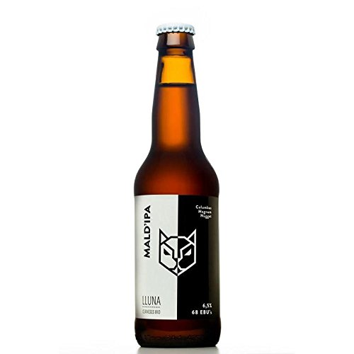 Cerveza Mald'ipa LLuna 33cl