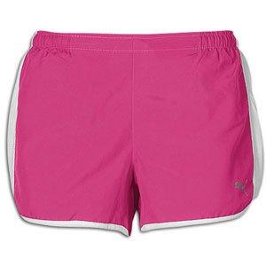 PUMA Women's 3' Shorts, Very Berry, Small