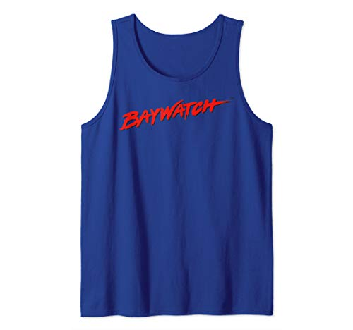 Baywatch Red Logo Vest Blue Tank Top for Men, Women, 4 other colors available