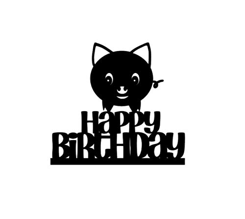Cake Topper, Pig cake topper, pig cupcake topper, pig birthday cake topper, pig birthday topper, pig cake decorations, pig topper, pig topper