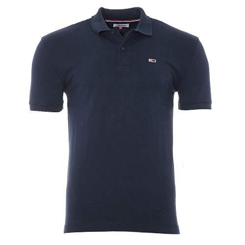 Tommy Hilfiger Herren Poloshirt TJM Tommy Classics Slim Fit (M, Dunkelblau)