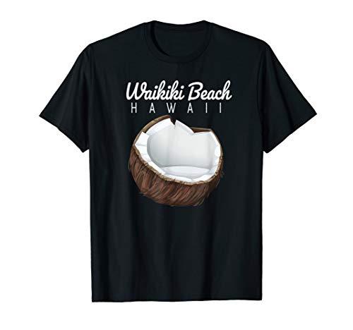 Waikiki Beach, Hawaii Coconut graphic T-Shirt