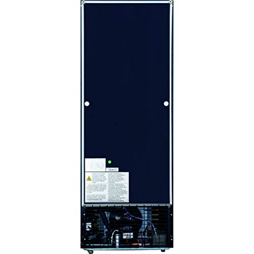 Dukers DSM-12R 11.4 cu. ft. Commercial Single Glass Swing Door Merchandiser Refrigerator