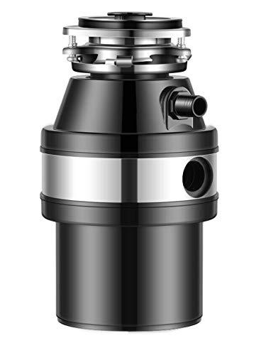 1000ml Triturador de Basura, 2600 rpm Residuos de Cocina Comida Cesiones, Triturador de Desperdicios de Comida, Triturador de Desperdicios de Cocina, Triturador de Basura