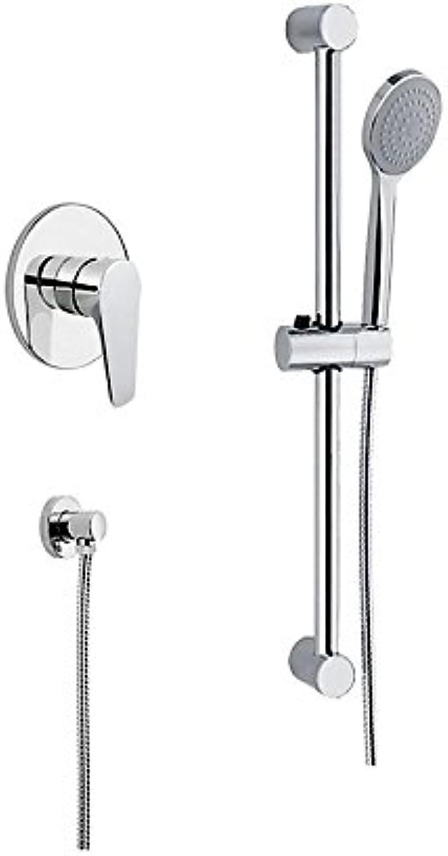 Einhebelmischer Dusche Outdoor Linie mit Duschstange, Brause, Stecker Wasser Made in