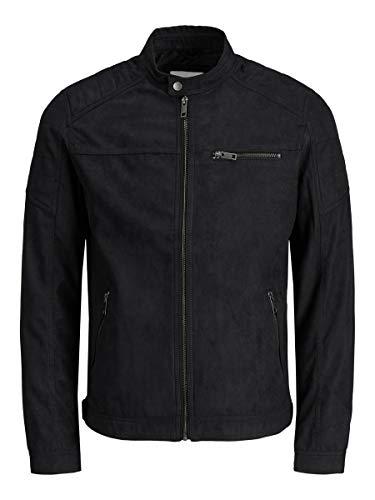 Jack & Jones Jjerocky Jacket Noos chaqueta, Negro azabache, M para Hombre