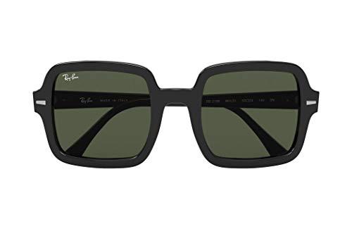 Ray-Ban 0rb2188-901-31-53 Gafas de Lectura, Black/Green, 53 Unisex Adulto