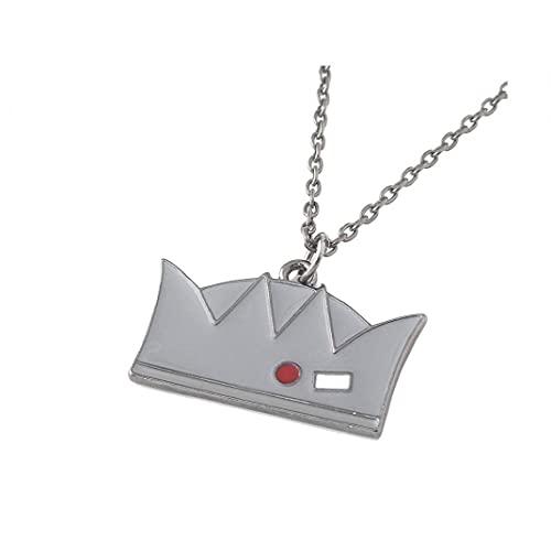 Collar de metal con colgante de corona de metal Riverdale Merchandy, collar clásico de película Riverdale, regalo para hombre y mujer
