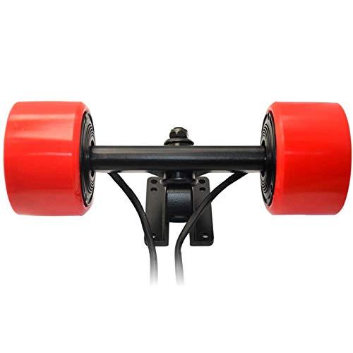 DAUERHAFT Rueda de monopatín eléctrico E-Skateboard Rueda de Motor de Cubo sin...