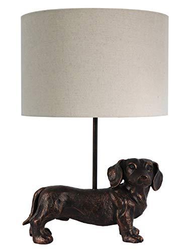 Tischlampe Dackel Nachttischlampe modernes Design schöne & außergewöhnliche Form