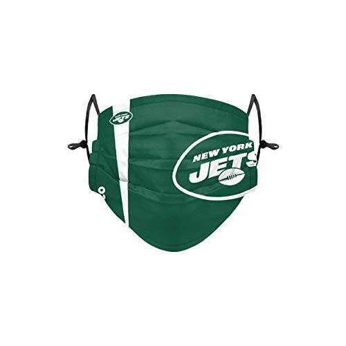 Forever Collectibles UK New York Jets On-Field Sideline Logo Jugend Face Cover