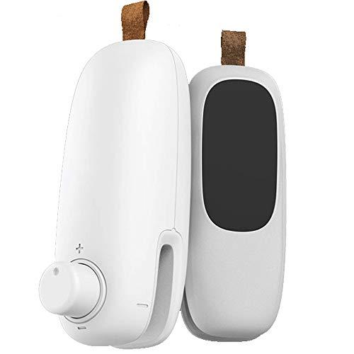 Bugucat Mini Folienschweißgerät #302,Vakuumierer 2 in 1(Versiegeln-Öffnen) Beutel Versiegelungsgerät,Handlicher Verschweißer Verschließen für Snack Lebensmittelbeutel Manual Bag Sealer