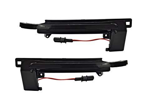 LEDPremium 2x LED knipperlicht achteruitkijkspiegel rookmelder A3 8P A4 B8 A5 8T A6 C6 Q3 E4 TÜV-getest