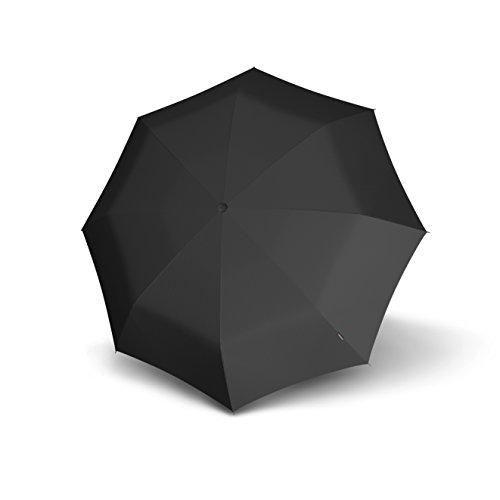 Knirps 806 Floyd Super-Compact Duomatic Auto Open/Close Umbrella, Black, One Size