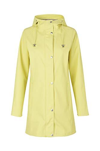 Ilse Jacobsen Lichte damesmantel | regenjas met capuchon en verstelbare mouwen | polyester met rubberen coating | waterdicht winddicht | RAIN87
