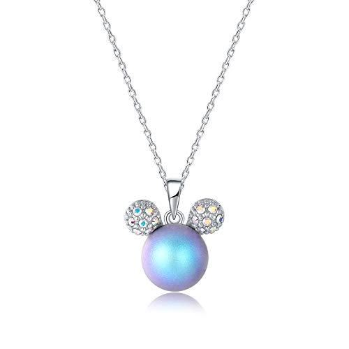Ailin & Co. Lucky Mickey Mouse Mouse Pendant necklace for women, Made with...