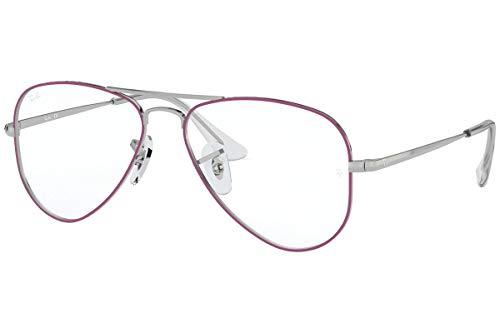 Ray-Ban JUNIOR 0RY1089 Monturas de gafas, Silver On Top Violet, 49 Unisex