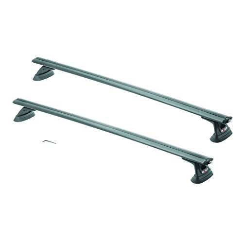 """ROLA 59715 51"""" Removable Anchor Point Extended APE Series Roof Rack for Mazda 3/CX-7/CX-9, Hyundai Accent"""