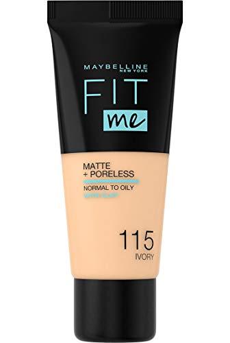 Maybelline, fondotinta Fit Me per minimizzare i pori