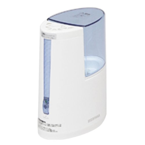 アイリスオーヤマ 加湿器 加熱式 アロマ対応 ブルー SHM-100U