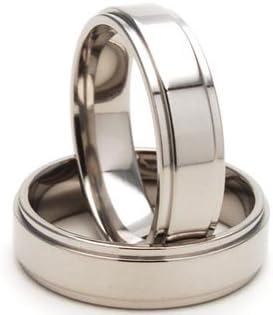 6mm Titanium Rings for Men, Titanium Ring Men, Titanium Wedding Band