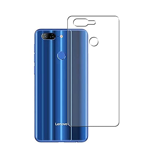 Puccy 2 Pack Back Screen Protector Film, compatible with Lenovo K9 TPU Guard Cover ( Not Tempered Glass/Not Front Screen Protectors)