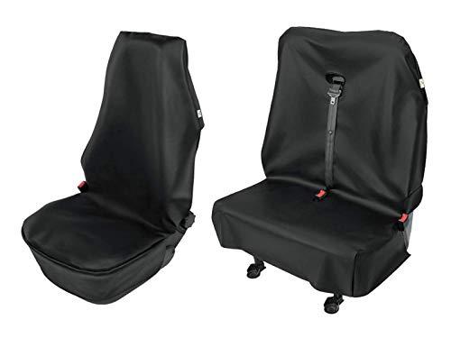 Carpendo Sitzbezüge Schonbezug Sitzschoner Auto Universal Werkstatt Sitzbezug Werkstattschoner für Transporter 1+2