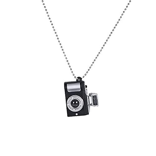 JiAQINGRNM Halskette mit Kamera-Perlen...