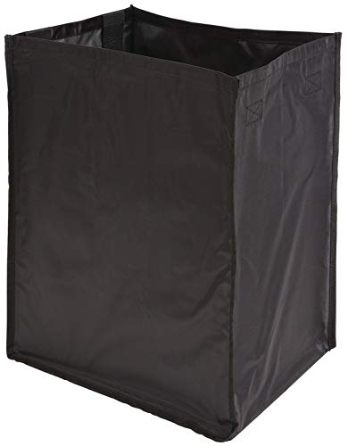 Hafele Hamper Replacement Bag - Synergy Collection - Nylon - Black (W 10 1/2' x D 12 1/16' x H 19 1/16')