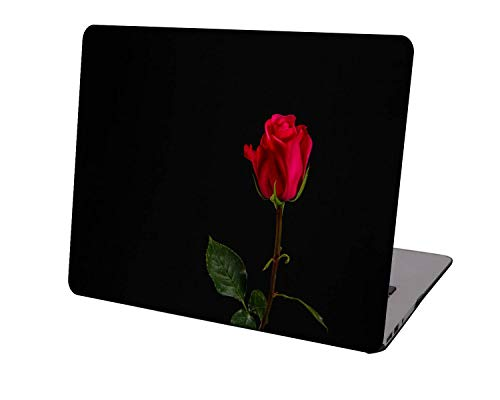 Laptop Case for Newest MacBook Pro 15 inch Model A1707/A1990,Neo-wows Plastic Ultra Slim Light Hard Shell Cover Compatible Macbook Pro 15 inch,Rose 0802