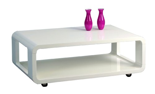 Hometrends4you 203650 coffee table 105 x 40 x 60 cm white for Coffee table 60 x 40