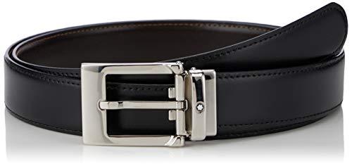 Montblanc Ejecutivo Reversible Cortado A La Medida-Cinturón,