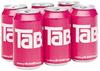 Tab Diet Soda 12oz Cans (Pack of 6)