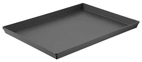 LloydPans Kitchenware 16x12 Inch Grandma Style Pizza Pan. Made in the USA, Fits Home Ovens