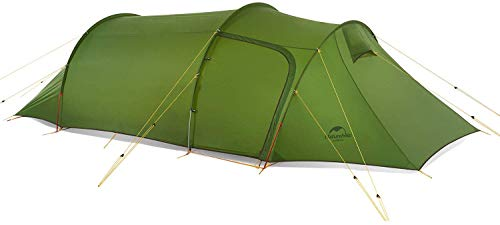 Naturehike Opalus Backpacking Tent 3 Person Lightweight Waterproof Camping Tent with Footprint …