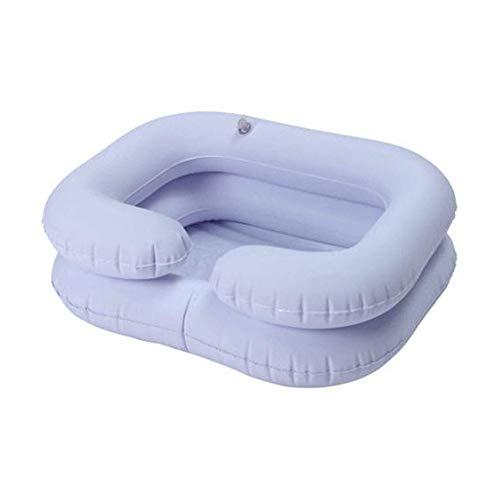 Gonfiabile Shampoo Bacino, con Pompa, Tubo di Scarico Portatile, for Bedridden disabili Gravidanza Anziani