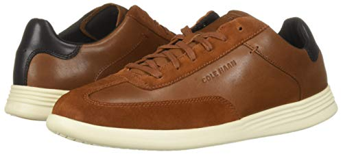Cole Haan Men's Grand Crosscourt Turf Sneaker, British tan Leather, 10 M US