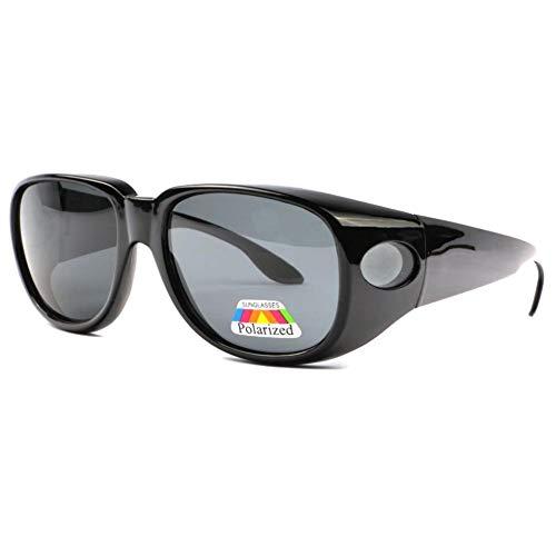 Eye Wear - Gafas de sol polarizadas, color negro Negro Talla única