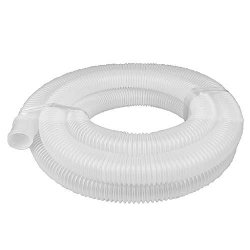 well2wellness® Universal Schwimmbadschlauch Poolschlauch 32mm transparent - 5 Meter (022021)