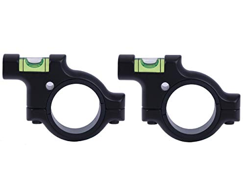 TACwolf Scope Sight Bubble Level for 1in / 30mm Tube to Precision Shooting Competition and Hunting