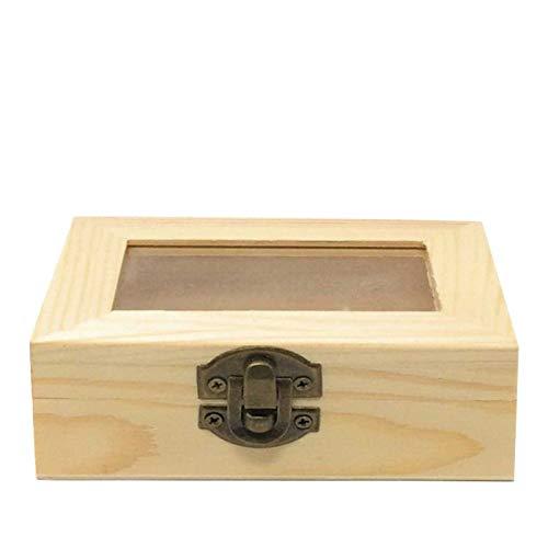 C1 Todo menaje - Caja de Madera con Tapa Cristal