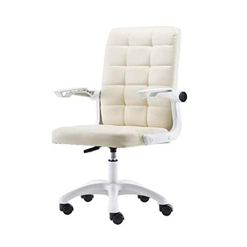 ZHJBD Meubelkruk/bureaustoel Draaibare Taakstoel met armleuningen Computer bureaustoel, hoge rug PU leer Verstelbare Stoel Ergonomisch Boss Executive Management