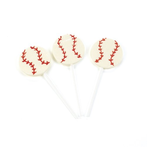 Baseball Sucker Lollipops (1 dz)