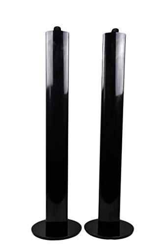 Harman Kardon HTFS 2 - Juego de 2 patas de aluminio para bicicleta, color negro