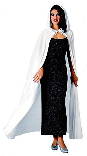 Rubie's womens Full Length Hooded Cape Party Supplies, Multicolor, One Size US