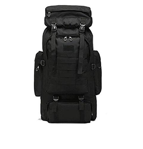 DD/LZY Rucksack 80L Wasserdichtes Klettern Wandern Military Tactical Rucksack Tasche Camping Bergsteigen Outdoor Sporttasche, E, 72 * 34 * 17 cm